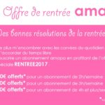 offre rentree flyer